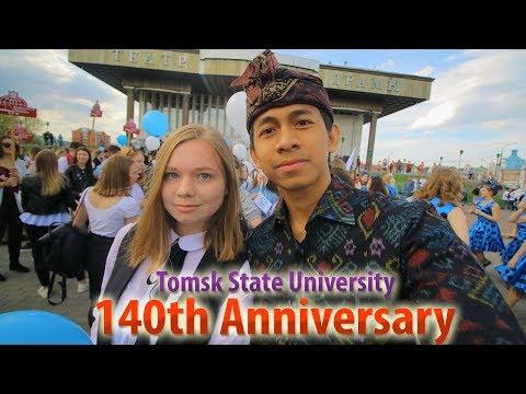 Pakaian adat Bali di Rusia - 140th Anniversary | Tomsk State University