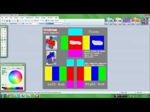 Roblox how to make and sell a t shirt doovi for Roblox shirt maker android