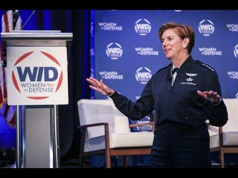 2017 WID National Conference | Northcom Commander Lori Robinson's Opening Keynote Speech