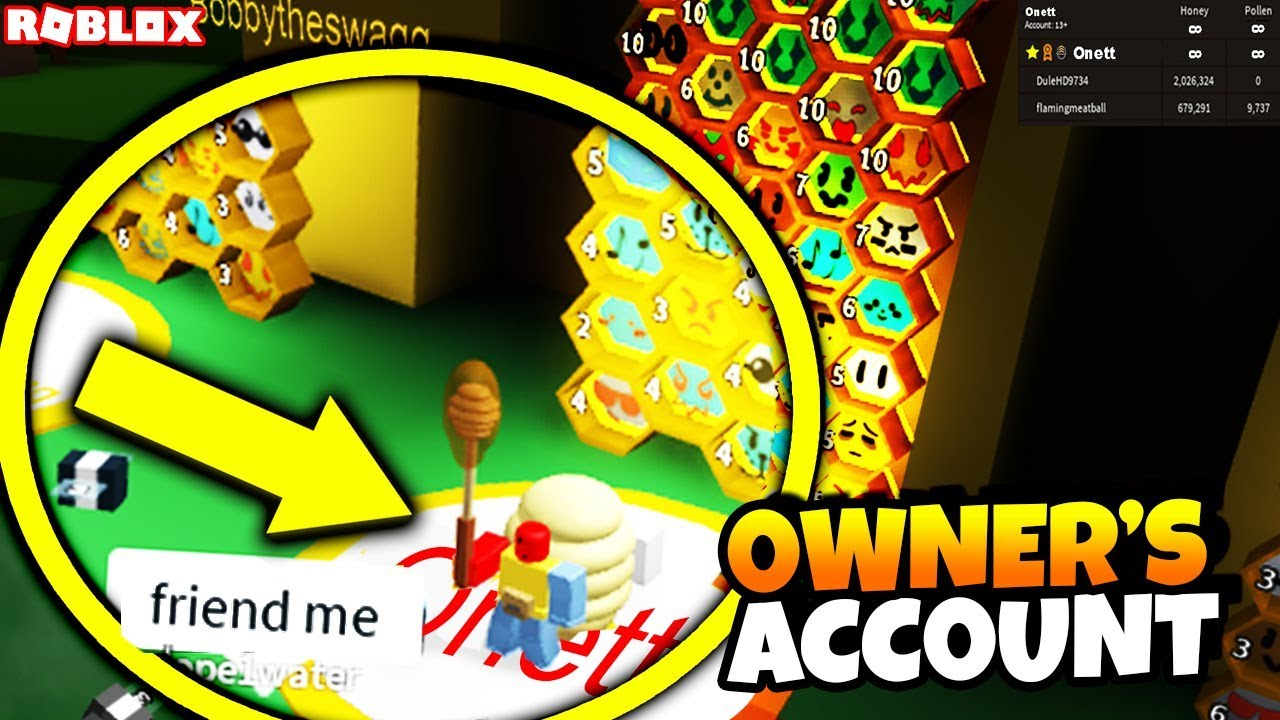 I Played As The Owner Of Bee Swarm Simulator In Bee Swarm