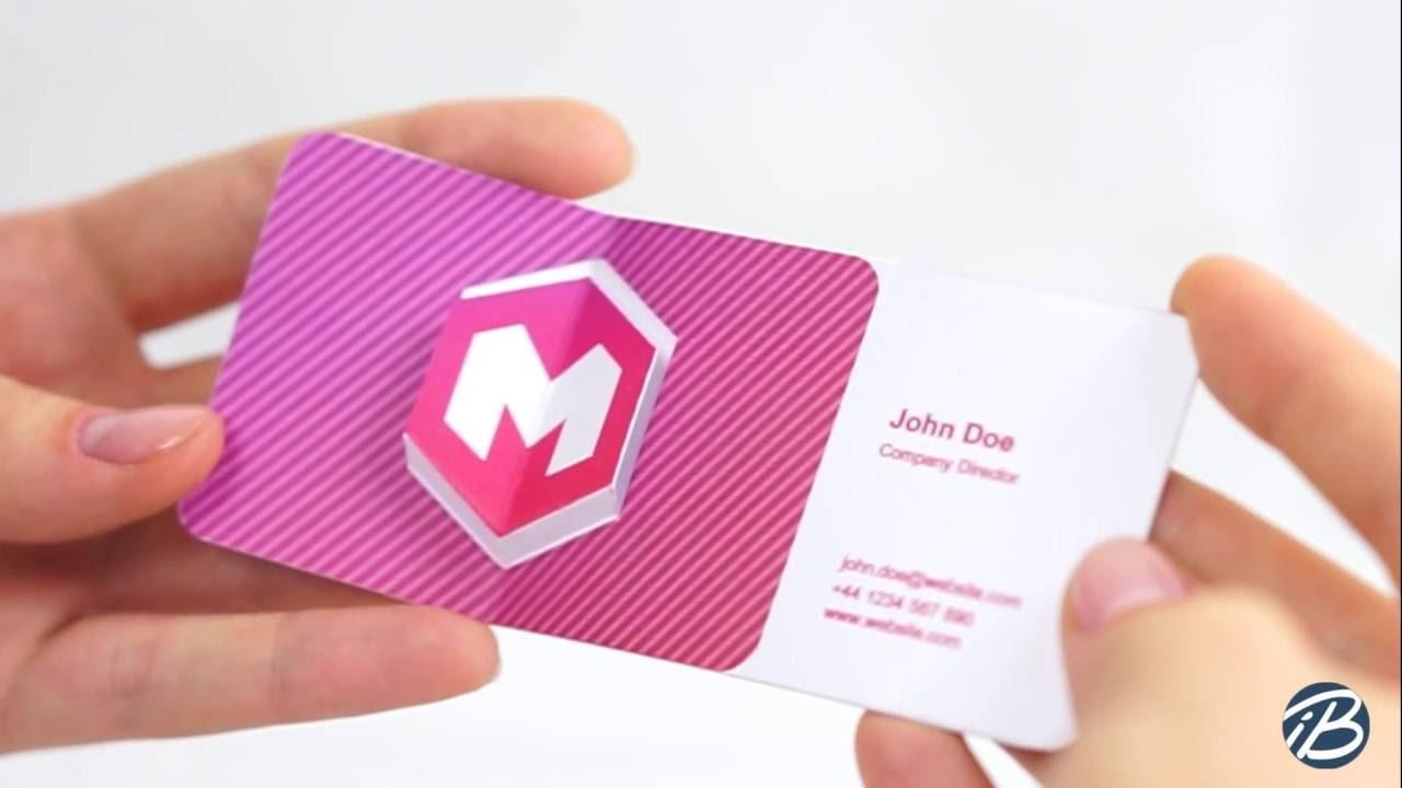 Maxresdefaultg cool 3d business card 1 youtube magicingreecefo Gallery