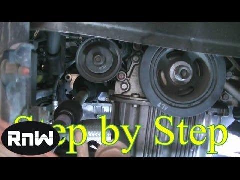 Hyundai Elantra Timing Belt Replacement Part 1  YouTube