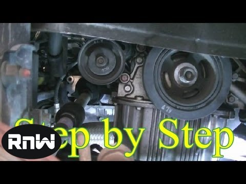 Hyundai Elantra Timing Belt Replacement Part 1 Youtube