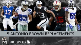 5 Free Agent Wide Receivers The Oakland Raiders Could Sign To Replace Antonio Brown In 2019