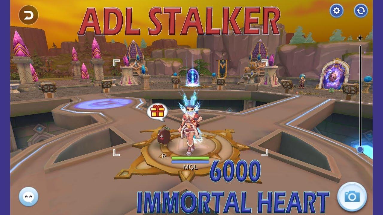 6000 Immortal Heart ADL Rogue/Stalker No Rune Ragnarok Online Mobile SEA