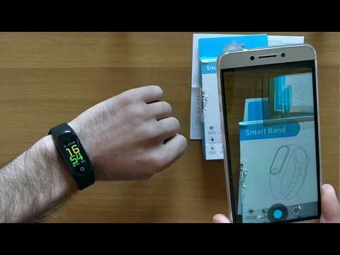 How to connect M3 Smart Bracelet with DayDay Band on Android IOS phone