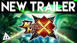 Monster Hunter X NEW Trailer, 3DS Demo & More!