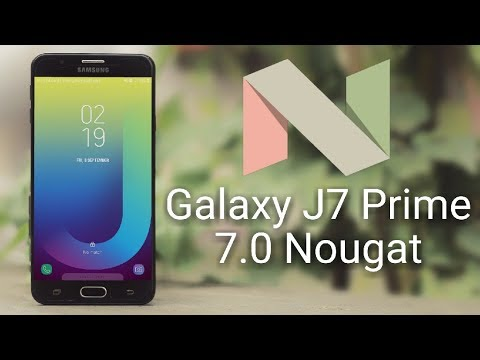 Galaxy J7 prime Nougat 7.0 Update Review