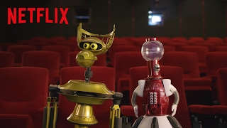 MST3K | Tom Servo & Crow Watch Netflix [HD] | Netflix
