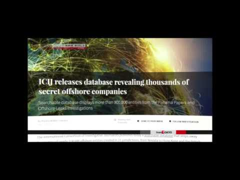 ICIJ releases names in Panama Papers