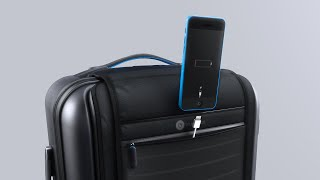 5 Futuristic Suitcases To Make Travelling EASY #3