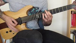 CHILDREN OF BODOM - LIL' BLOODRED RIDIN' HOOD - GUITAR COVER (HD)