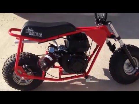 Baja DB30 Predator 212cc START UP! - YouTube