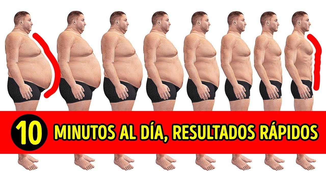 Quemar grasa abdomen hombre