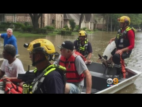 Swift Water Rescue Team Returns From Texas