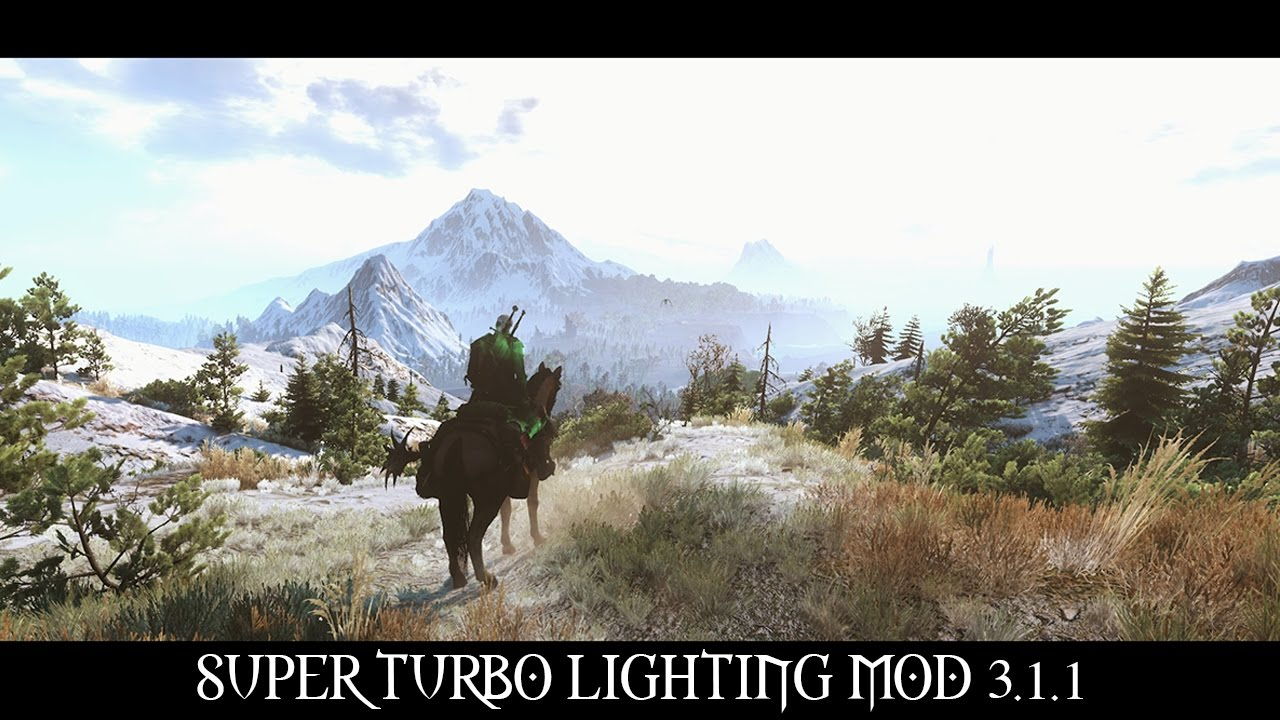 The Witcher 3 Mods Super Turbo Lighting Mod 1