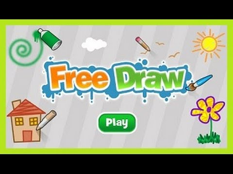 Free Draw - Online Art and Creativity Game for Kids - Nick Jr. - YouTube