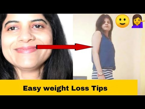 Easy Weight Loss Tips in Hindi |Weight loss Tips For Beginners at Home | shrutips