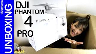 DJI Phantom 4 Pro unboxing en español | 4k UHD