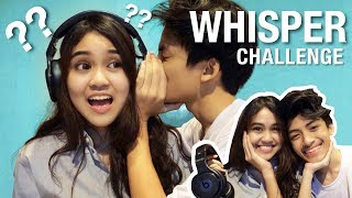 COUPLES WHISPER CHALLENGE!!