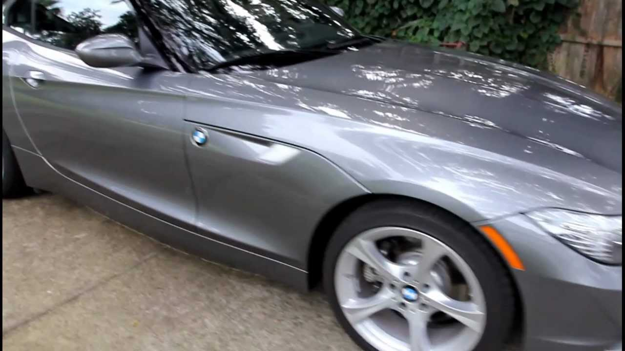 2012 Bmw Z4 Sdrive 28i Space Gray Walkaround And Interior