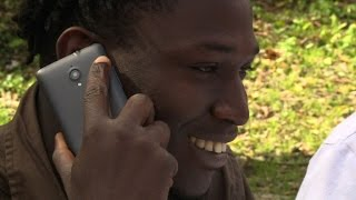 Red Cross initiative helps migrants phone home