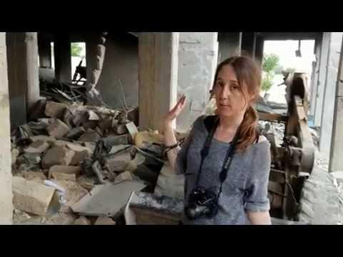 White Helmets complex in Saqba, Ghouta