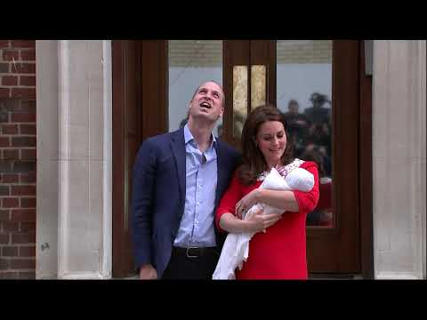 Royal baby: Kate and William leave hospital with baby boy - 5 News