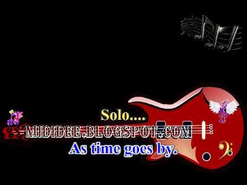 Karaoke song, CASABLANCA, Bertie Higgins