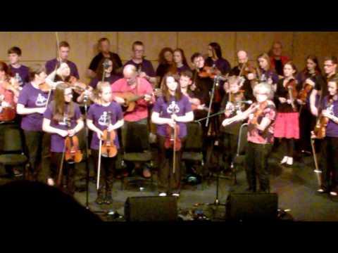 Hjaltibonhoga and the Melbourne Scottish Fiddlers, Mareel, September 2015 (1)