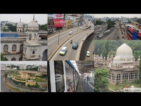 First Journey || Hyderabad Metro Train || Ameerpet To LB Nagar