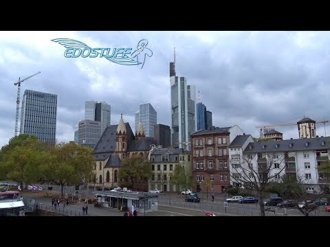 Walking the streets of Frankfurt - Autumn 2017