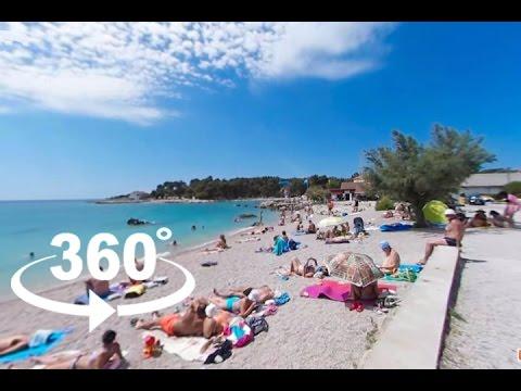 KRK CITY BEACH — KRK | 360º VR | Pointers Travel