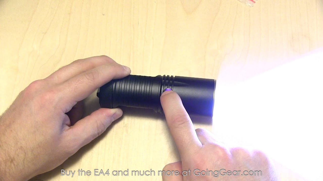 Nitecore EA4 Pioneer LED Flashlight Extended Review