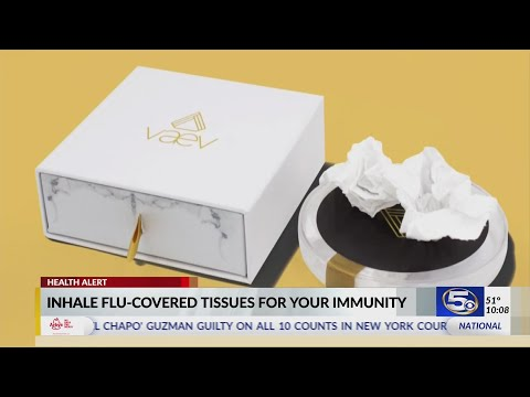 VIDEO: Company sells snotty, virus-infected tissues