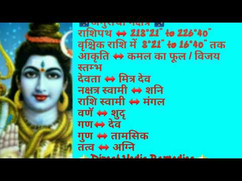 🌟 अनुराधा नक्षत्र की विशेषताए 🌟 Anuradha constellation in astrology