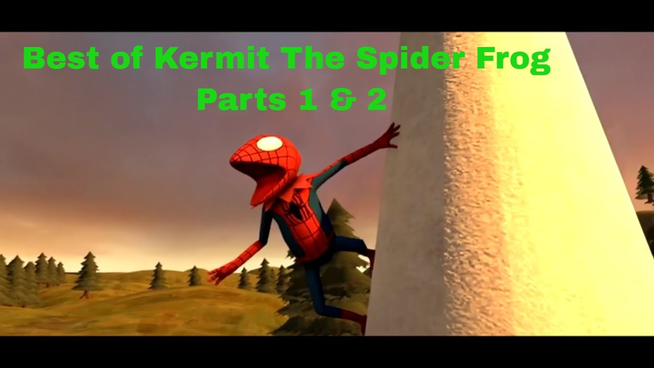 The Best Of Kermit The Spider Frog Parts 1 & 2 Compilation