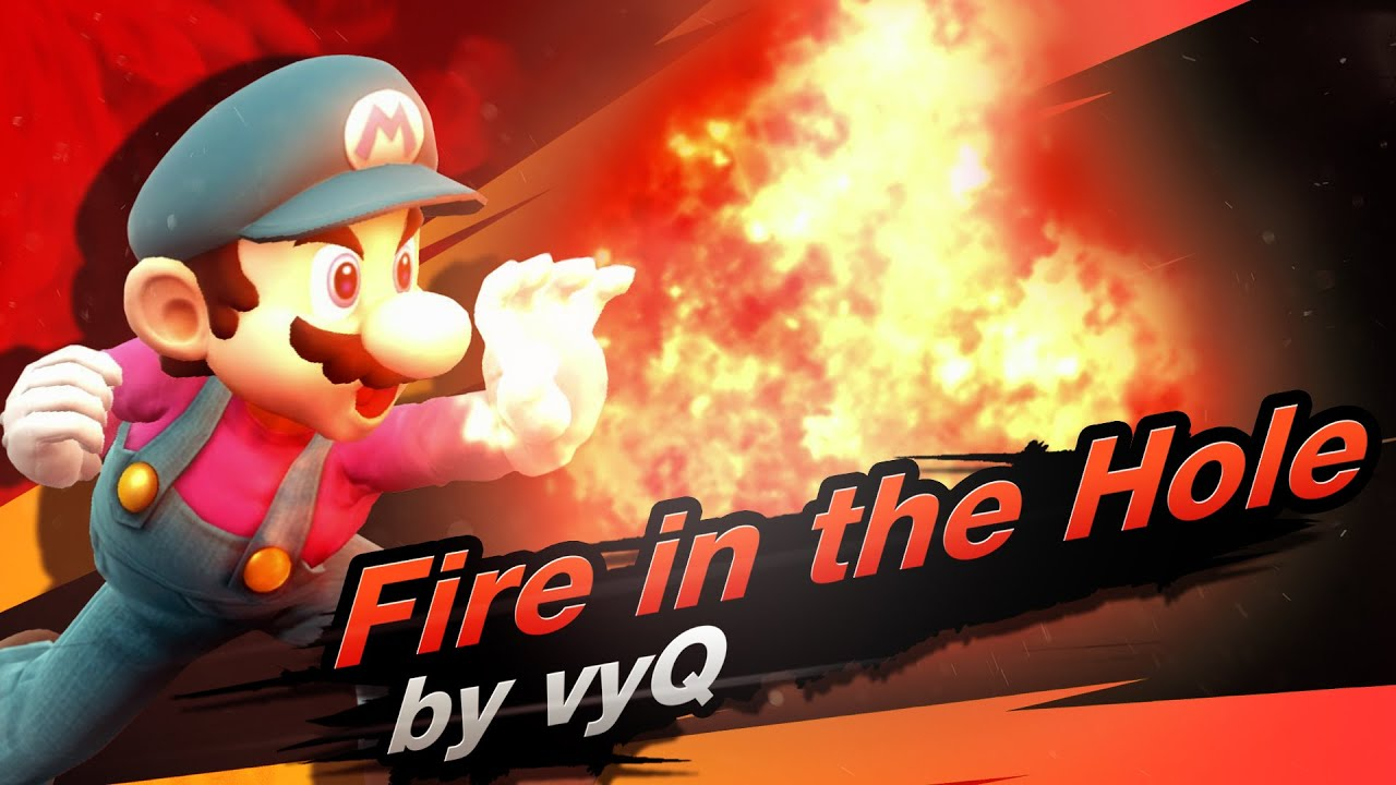 Mario Combo Video - Fire in the Hole | by vyQ - Smash 4 Wii U