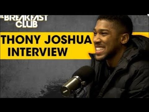 ANTHONY JOSHUA NEW YORK INTERVIEW | DO YOU QUESTION ESPN OR FOX FOR LBJ,DURANT OR BRADY TALK, NOO !