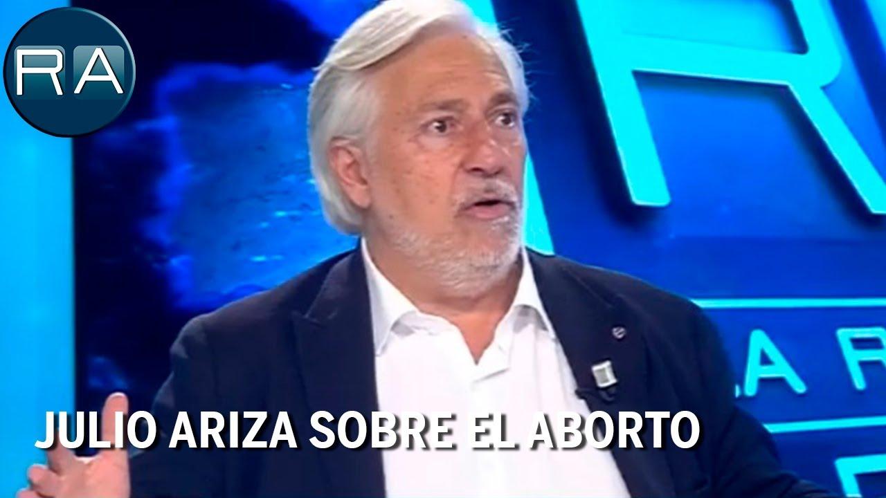 Julio Ariza: 'Hay 100 mil abortos al año, 300 cada día, la muerte de inocentes la pagamos todos