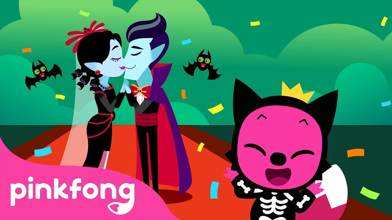 Vampire Wedding Will Start Soon! ❤️| Halloween Story Time | Pinkfong Stories for Children
