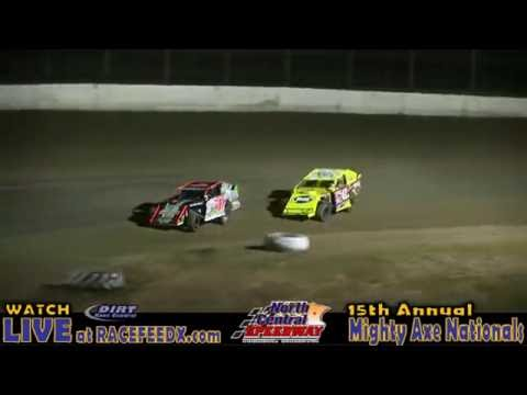 North Central Speedway 8/26/16 Mehrwerth & Martini