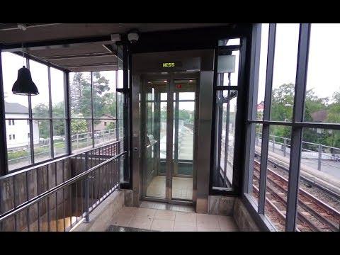 Sweden, Stockholm, Stureby Subway Station, U-Bahn, SMW elevator