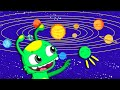 New episode! Groovy The Martian - Learn the planets of the solar system with funny cartoons for kids
