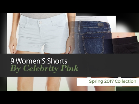9 Women'S Shorts By Celebrity Pink Spring 2017 Collection