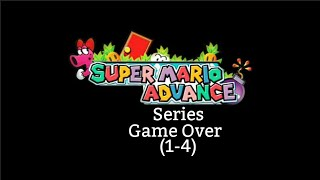 Super Mario Advance Series Game Over (1-4)