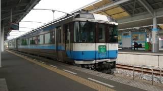 キハ185系特急うずしお号(2B剣山色)高松駅入線