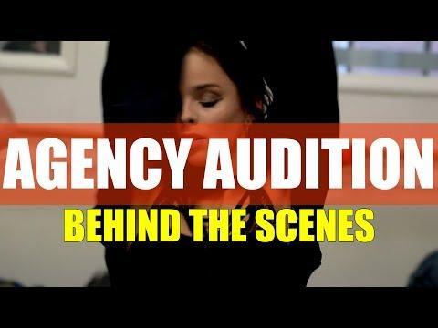 LOVE RUDEYE Agency Audition | Behind The Scenes VLOG | @BrendonHansford