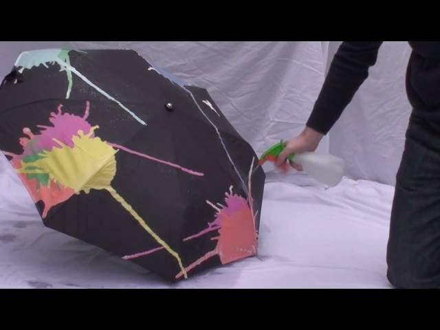 Squidarella color changing umbrella by UrbanTrim.com