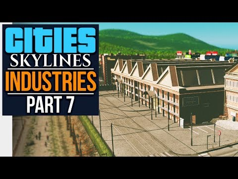 Cities: Skylines Industries | STEEL PLANT (#7)